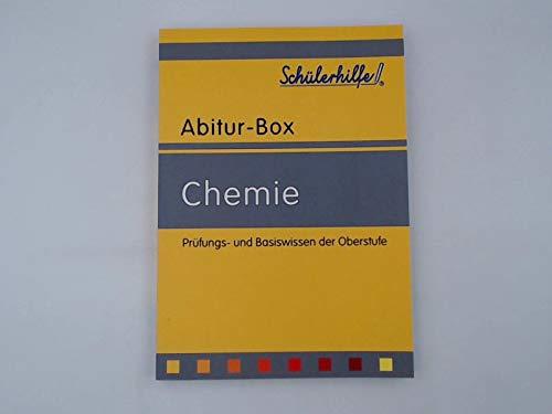 Chemie - Prüfungs- und Basiswissen der Oberstufe (Schülerhilfe Abitur-Box)