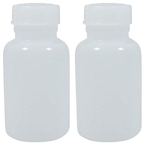 2 x Apothekerdose 250 ml mit Schraubverschluss aus Kunststoff (PE-LD), BPA frei - made in Germany