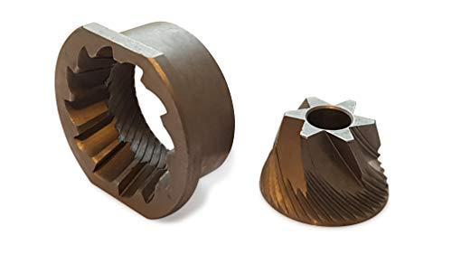 Mahlscheiben Mahlsteine Mahlkegel Mahlring passend für das Saeco, Jura, Nivona, Miele, AEG und Siemens Mahlwerk von Coffee in Shape ©
