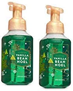 Bath and Body Works 2 Vanilla Bean Noel Gentle Foaming Hand Soap. 8.75 Oz.