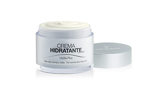 Verdaloe - Crema Facial Hidratante con Aloe Vera - Presentación 50 ml - Hidratante y Nutritiva - Para Pieles Normales y Mixtas - Fabricado en España - Plantaciones Ecológicas