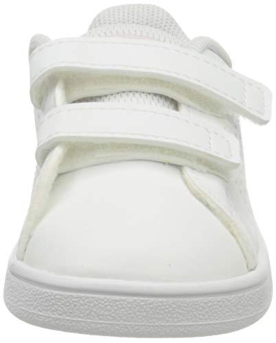adidas Advantage I, Sneaker, Footwear White/Real Pink/Footwear White, 22 EU