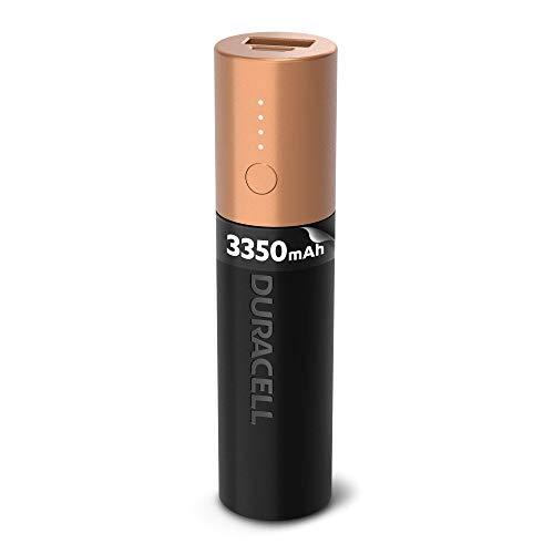 Duracell Power Bank 3.050 mAh, Caricatore Esterno per Smartphone e Dispositivi USB