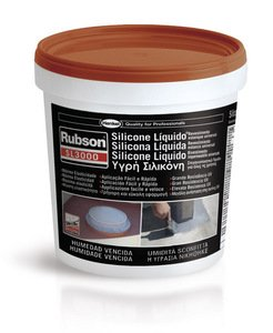 RUBSON SILICONE LIQUIDO SL3000 TERRACOTTA KG.1