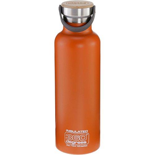 Sea to Summit Trinkflasche 360 Degrees Vacuum Bottles 750ml orange (506) 0,75L
