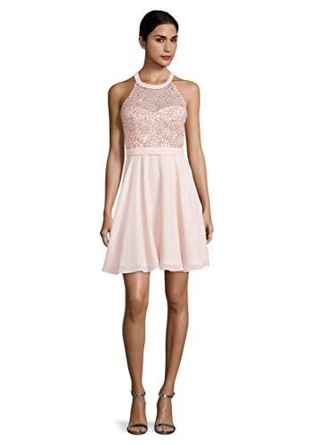 Vera Mont Damen 8069/4000 Kleid, Rosa (Pale Rose 4388), (Herstellergröße: 36)