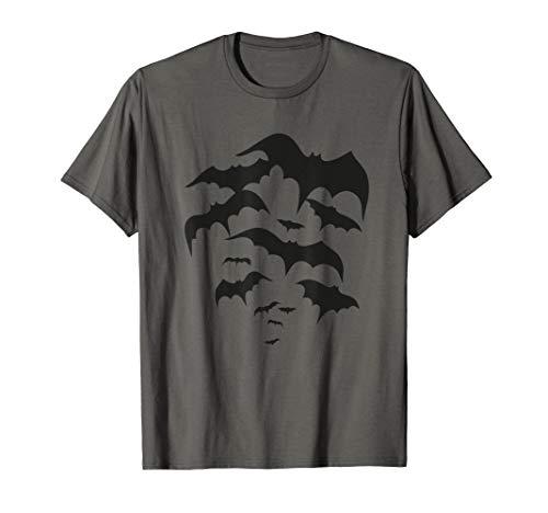 Fliegender Schwarm Fledermäuse - Halloween Bats