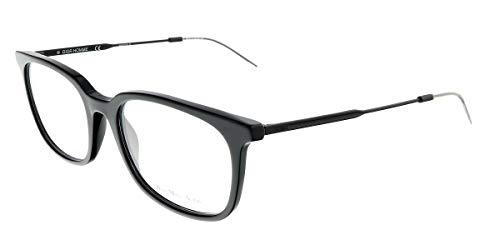 Dior Homme Brillen Für Mann BLACKTIE210 263, Semimatte Black Gestell aus Metall und Kunststoff, 53mm