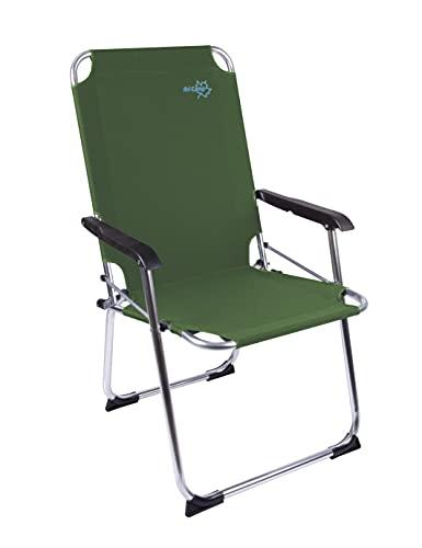 Bo Camp Copa Rio XL - Klapp-Stuhl Aluminium grün 51x58x96cm Belastbarkeit 110kg