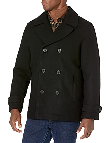 Amazon Essentials Wool Blend Heavyweight Peacoat Outerwear-Coats, Cruz V2 Fresh Foam, US M (EU M)
