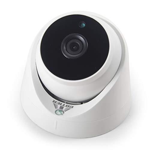Wuqiang Paulclub 533W / IP PoE (Power Over Ethernet) 720P IP cámara de Seguridad Inicio de Vigilancia de la cámara, Soporte visión Nocturna y el teléfono alejado de la visión (Blanco)