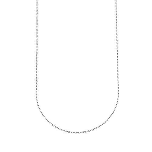 Plata de Ley 925 Collares Marineros 26 Pulgadas Cadenas Rolo 1.5mm Ancho Joyería Simple con Colgantes Regalo Uso Diario