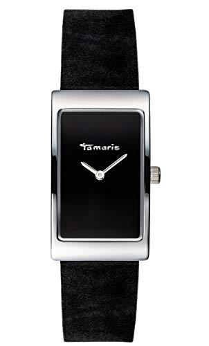 Tamaris Damen Analog Japanischer Quarz Uhr mit Leder Armband TW022
