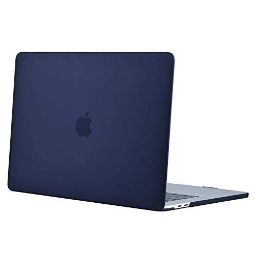MOSISO Coque Compatible avec MacBook Pro 16 Pouces A2141 2019, Ultra Slim Protecteur Plastique Coque Rigide Compatible avec MacBook Pro 16 Pouces avec Touch Bar & Touch ID, Bleu Marin