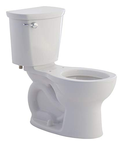 American Standard 215DA104.222 Cadet Pro 1.28 GPF 2-Piece Round Front Toilet with 12-In Rough-In, Linen
