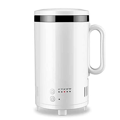 JJINPIXIU Enfriador de tazas - Calentador de café de escritorio, soporte de soporte de taza de enfriamiento y calentamiento, calentador de tazas de café de escritorio y taza de bebidas Agua de enfriam
