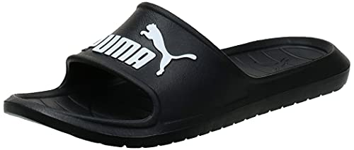 PUMA Divecat V2, Zapatos de Playa y Piscina Unisex Adulto, Negro Black White, 43 EU