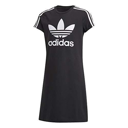 Adidas Skater Dress, Unisex niños, Black/White, 1112Y