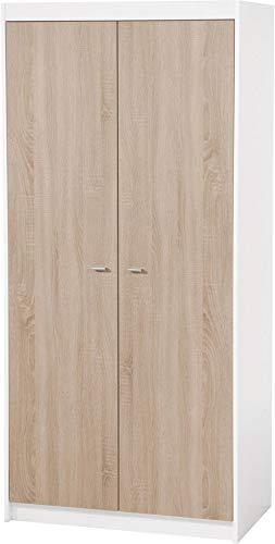 Armoire 2 portes « Gabriella » avec 5 étagères roba 42460
