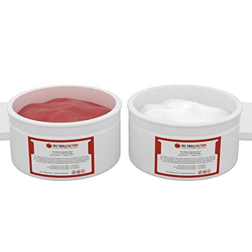 Caucho de silicona TFC de silicona suave y de tipo 5 de masaje de borrar Shore 40 1: 1, 10 kg