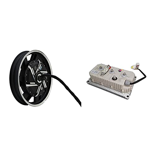 XIAOFANG Motor 17InCH 8000W 273 50H V3 Scooter eléctrico Kits de Motor y KLS7275H Controlador