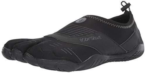 Body Glove Men's 3T Barefoot Cinch Water Shoe, Black/Black, 12