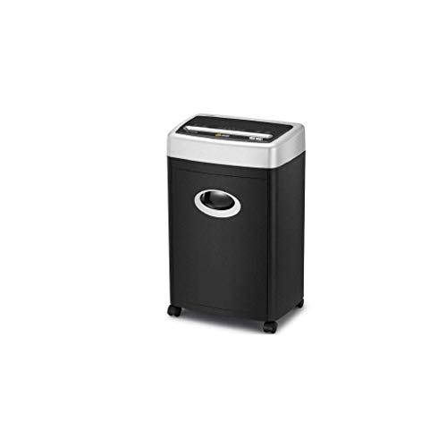 Best Review Of ZLDQBH Black Shredder -High-Security Micro-Cut Paper Shredder with Pullout Basket, Bl...