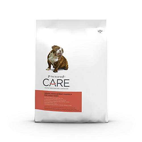 Diamond Care Weight Management Dog Recipe Specially Made As A Low Fat & High Fiber Diet for Weight Loss & Obesity 25lb