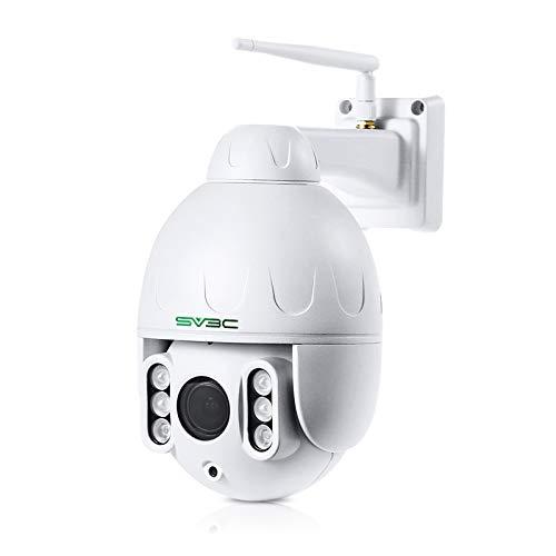 PTZ WiFi Wireless Camera Outdoor, SV3C 1080P 360°...