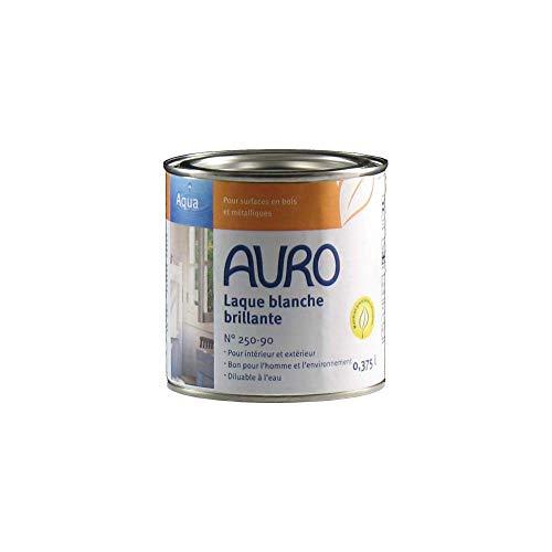 Auro Weißlack seidenmatt Aqua - 0,375L