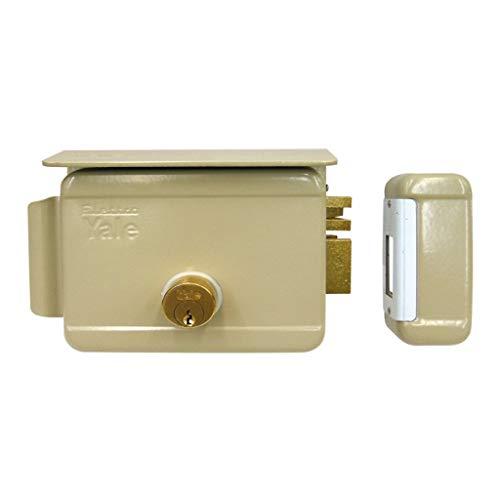 Cerradura eléctrica de sobreponer para puertas Art. 680con pestillo azionabile retraído externo...