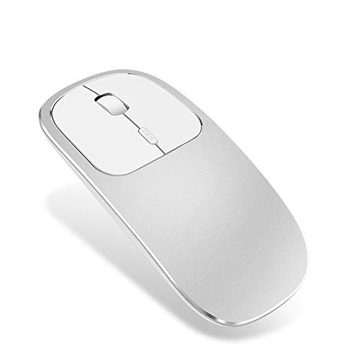 Ratón Bluetooth Ultrafino de Metal sin Ruido