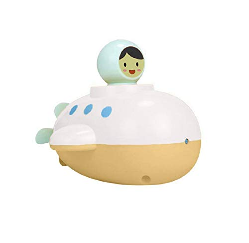 Koojawind Juguete de baño Submarino Explorer, Juguete de baño con hélice Trasera giratoria, Juguete con rociador de Agua Baño de baño Juguetes para niños pequeños