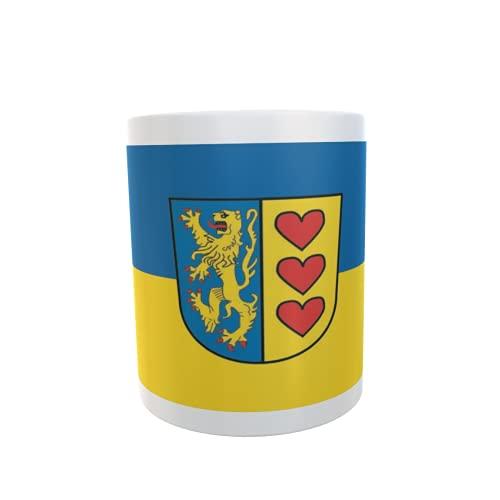 U24 Tasse Kaffeebecher Mug Cup Flagge Landkreis Lüneburg