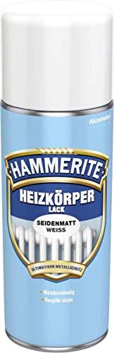 AKZO NOBEL (DIY HAMMERITE) Heizkörper-Lack Seidenmatt Weiß 0,400 L, 5087673 Farbe: Weiß seidenmatt