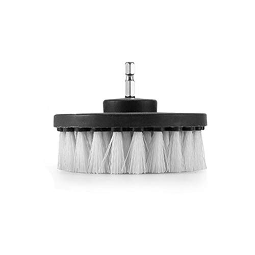 盛世汇众 3Pcs White Drill Brush Kit Grout Power Scrubber Cleaning Brush Tub Cleaner Combo Tool Kit Bathroom Surface Cordless Drills (Color : C)