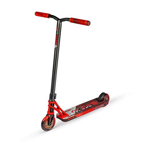 MADD MGP Gear MGX Freestyle Stunt Scooter Pro - Patinete para acrobacias, color rojo y negro