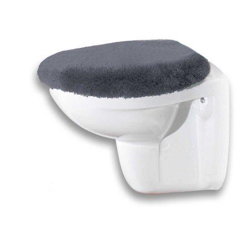 Meusch 2266905104 Housse de siège de Toilette Polyacrylique Gris Ardoise 47 x 50 x 2 cm