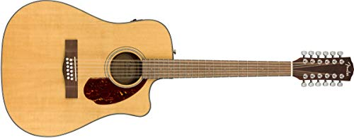 Fender CD-140SCE 12-String Acoustic Guitar -...