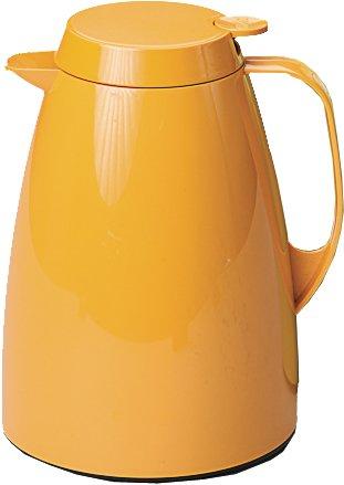 Emsa 508359 Isolierkanne, Thermoskanne, 1l Füllvolumen, Kaffeekanne, Quick Tip Verschluss, Basic in orange