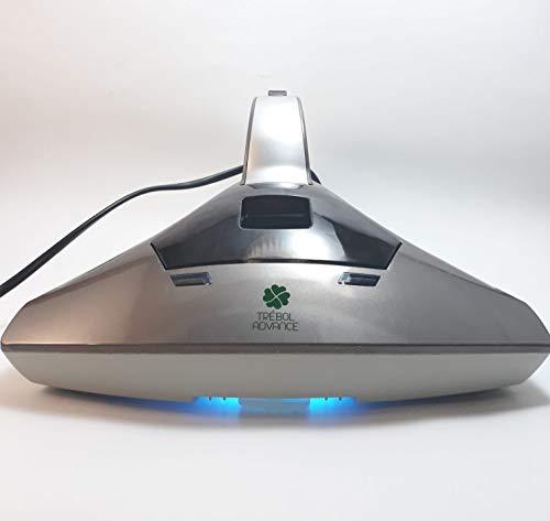 TRÉBOL ADVANCE Aspirador de ácaros con luz UV esterilizador Aspiradora de colchones y tapiceria Aspirador de Mano Anti acaro