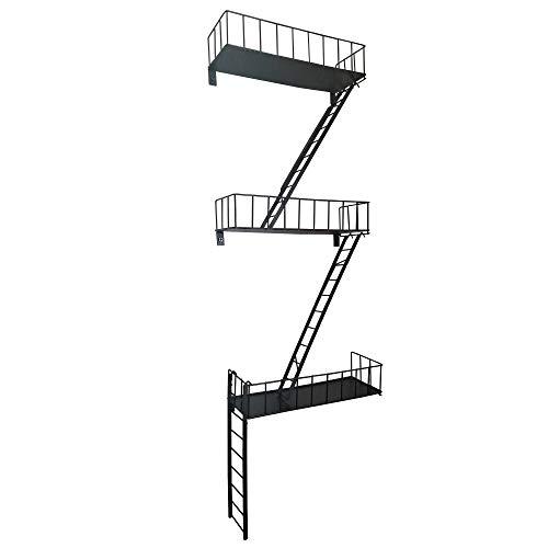 Coated Steel Fire Escape Shelves