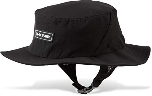 Dakine Indo Surf Hat - Schwarz - Unisex - Schwimmender Hut für den Wassereinsatz - UPF 50+ - Die Krempe lässt Sich zum Paddeln hochklappen