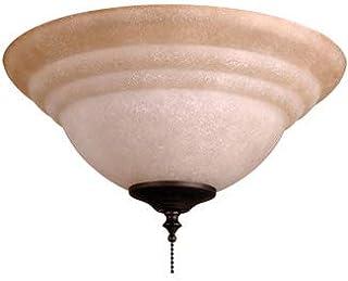Craftmade ELKT126-11, Non-Swirl Tea Stain Glass Bowl...