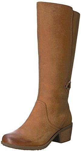 Teva Women's W Foxy Tall Waterproof Boot, Brown, 5 M US