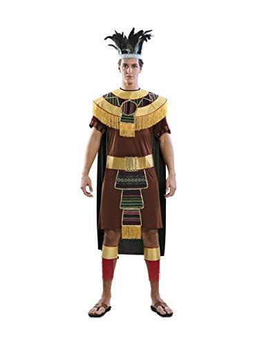 EUROCARNAVALES Disfraz de Indio Azteca para Hombre