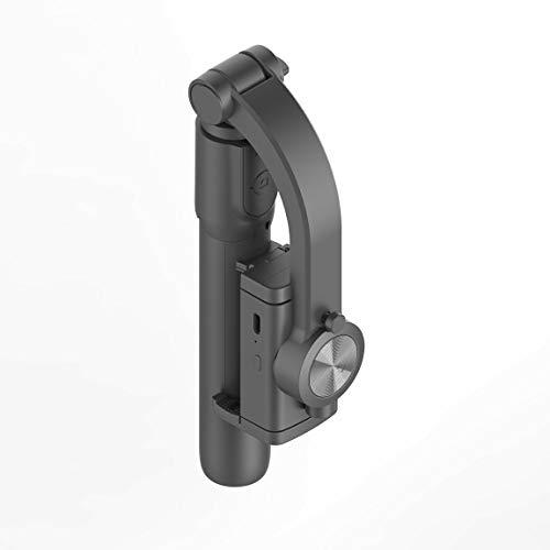 Pumprout Estabilizador de cardán de Mano de un Solo Eje GS40 con trípode de Obturador inalámbrico para teléfono Inteligente Cámara de acción Grabación de Video Herramientas en Vivo