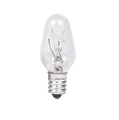 Philips Night Light Clear C7 Bulb: 2700-Kelvin