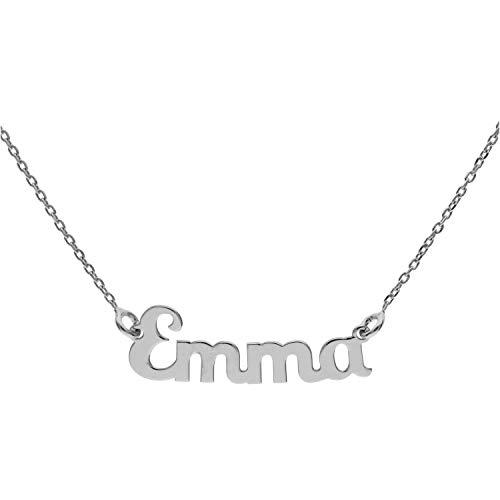 Collana In Argento Con Nome (E) (Emma)