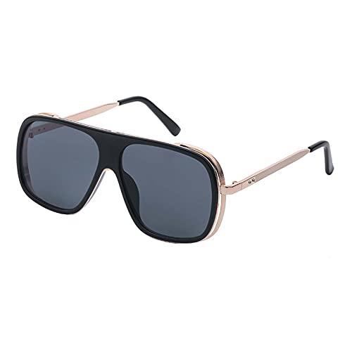 AMFG Gafas De Sol Retro De Hombres Y Mujeres, Gafas De Tendencia Especial Para Conducir, Conjuntos De Gafas, Regalos (Color : B, Size : M)